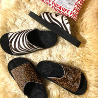 "SANDALMAN ""slider"" (cow hair) women's"