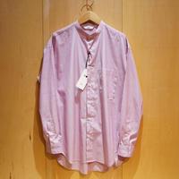 "amne ""stripe BC L/S shirts"" (pink) unisex"