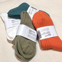 decka quality socks (low gauge rib socks) short length