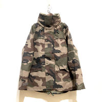 """MILITARY DEADSTOCK """"french army CCE camo 3-layer waterproof field parka"""