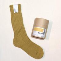 decka quality socks (cased heavy weight socks) yellow