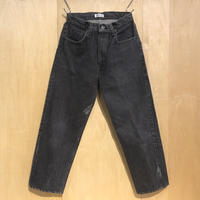 """KNIFEWING""""USA505 tuck tapered wide pants""""S-A(blk) unisex"""