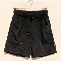 """THOUSAND MILE """"utility shorts"""" (black)"""