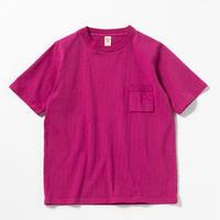 "Jackman""dotsume pocket T-shirts""(ash rose) unisex"