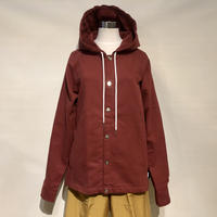 "THOUSAND MILE ""Bedford Cord Beach Jacket""(red)unisex"