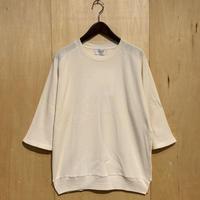 "FLISTFIA""3/4 sleeve sweater""(off white) unisex"