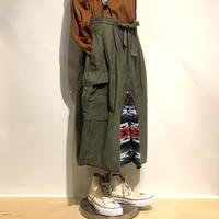 twenty-twenty[s]  suspender cargo skirt native women's