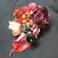 Pantom Jewelry/ファントムジュエリー BOO-quetのコサージュ レッド系