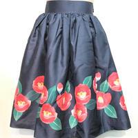 こまぎれ 椿スカート