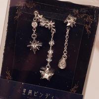 実柚季のまつげ 星屑ビンディ No,198