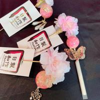 製作日和/せいさくびより【桜祭り】 桜かんざし