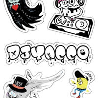 yacco MONSTER STICKERS