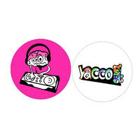 yacco ミソちゃん&yacco組 ピンバッヂ2個セット