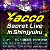 YACCO SECRET LIVE