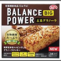 ヘルシークラブ バランスパワービッグ 玄米グラノーラ 2袋(4本)入