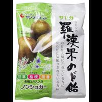 サヤカ 羅漢果のど飴 ノンシュガー 60g入