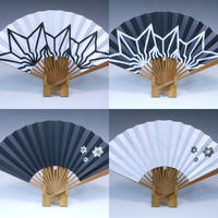 BAKIBAKI x 山武扇舗 扇子 (白/黒)