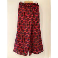 ORIGINAL FLOCKY PRINT SKIRT PANTS