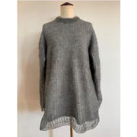 MOHAIR PILE ONE-PIECE