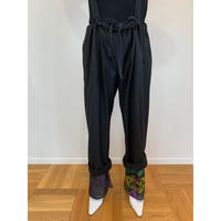ORIGINAL PRINT SUSPENDERS PANTS