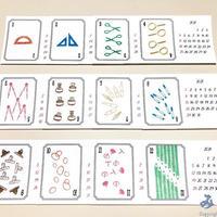 久奈屋 曆カード「文具暦」