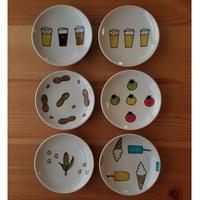 九谷焼 豆皿 ビールetc
