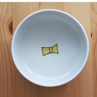 九谷焼 取り鉢 リボン・蝶々