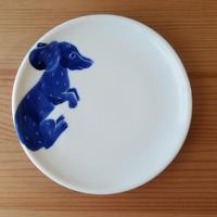 ダックスフンド 小皿