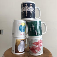 象夏堂オリジナル:版描アートプリントマグカップ | SHOKADO's Original: Stamp Art Printing Mugs