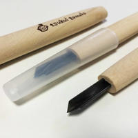 "再入荷!:象夏堂特注・三角刀「つくい刀90」| Back-in-stock!: Special Order・Triangular Carving Knife  ""Tsukui 90"""