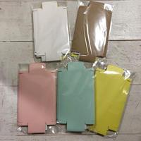 はんこ素材:貼り箱キット(無地ペンケースサイズ)| Stamp Material: Decorative paper box kit (Plain, Pen case size)