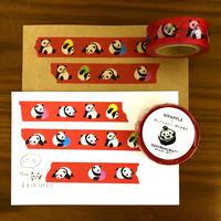 マスキングテープ「パンダ」18mm