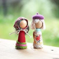 工作キット「指人形」有馬玩具博物館オリジナル