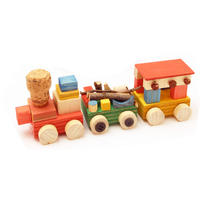 工作キット「木の汽車ぽっぽ」有馬玩具博物館オリジナル