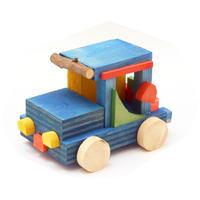 工作キット「木のくるま」有馬玩具博物館オリジナル