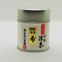 宇治抹茶 希【まれ】 30g缶入
