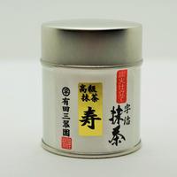 宇治抹茶 寿【ことぶき】 30g缶入