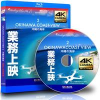 業務上映用ドローン × 4Kカメラ映像【Healing Blue Air Bヒーリングブルー・エアB】沖縄の海岸 2〈動画約100分 approx100min.〉感動のドローン × 4Kカメラ