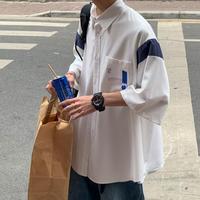 ショルダーライン オーバーサイズシャツ