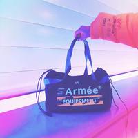 """Armée """"GYM BAG """"  NOIR(ブラック)"""