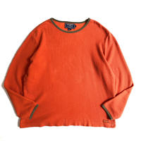 """90's """"POLO SPORT"""" cotton thermal"""