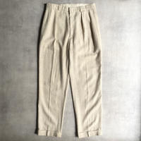 """Polo by Ralph Lauren"" linen&cotton slacks"