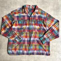 "90's Polo by Ralph Lauren ""SKI CAMP"" cotton open collar shirts"