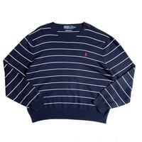 """Polo by Ralph Lauren"" pima cotton knit sweater"
