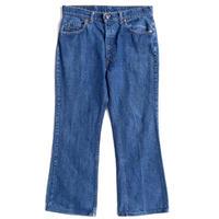 "70's Levi's ""517-0217"" denim pants"