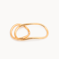 Two Finger Double Ring - art. 1602R015030