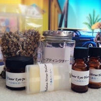 花粉症の方の鼻水、鼻づまり、かゆみが楽になる!花粉症対策アロマ・ハーブクラフト5点セット