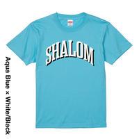 Shalom_Aqua Blue_Tee