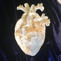 K様専用 金の心臓 / Un cuore d'ore  小サイズ