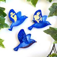 6/24 zoom開催「青い鳥のブローチ」
